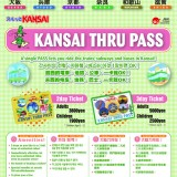 KANSAI THRU PASSポスター